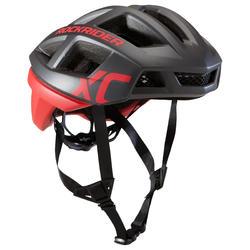 MTB helm XC cross country zwart/rood