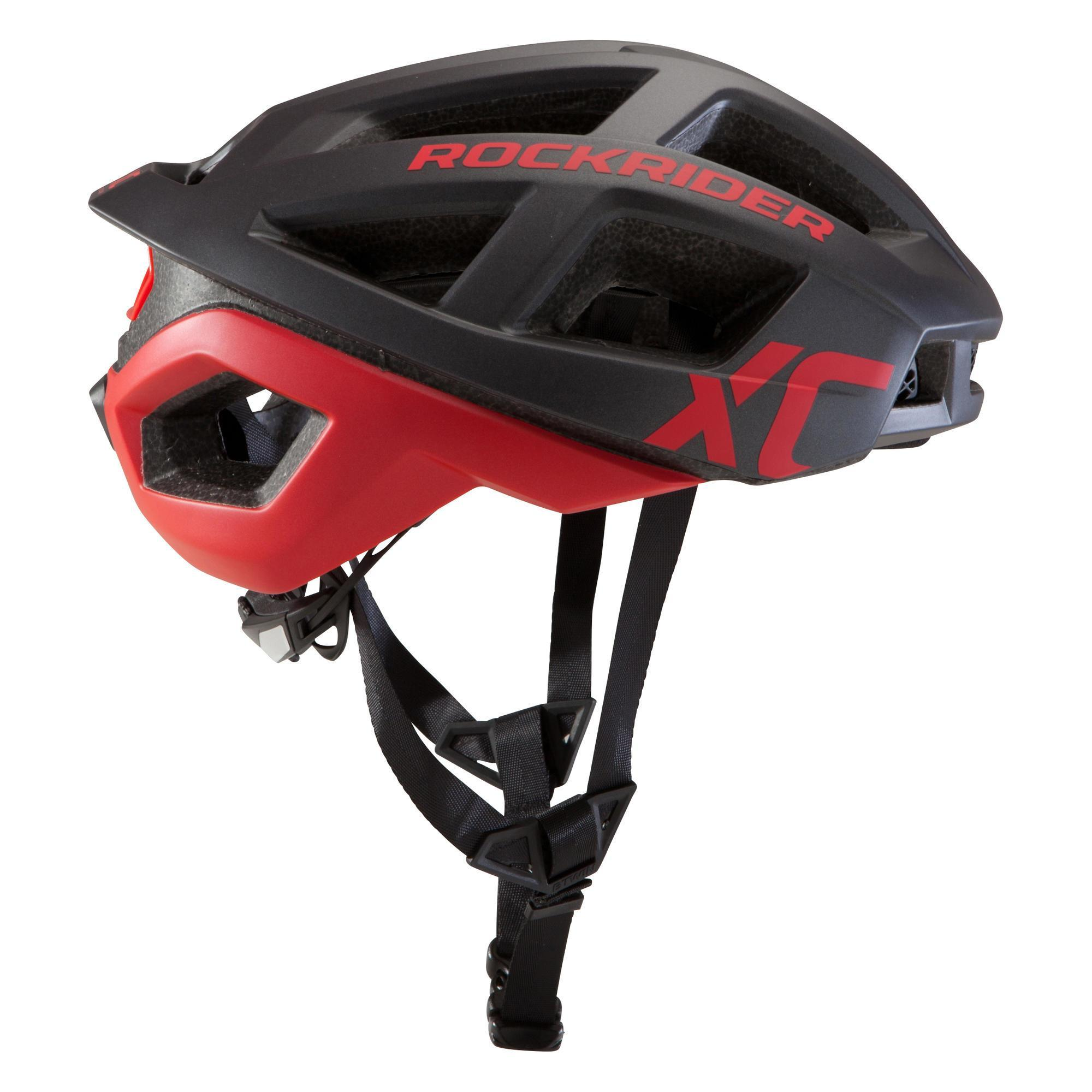 Rockrider MTB-helm XC rood kopen