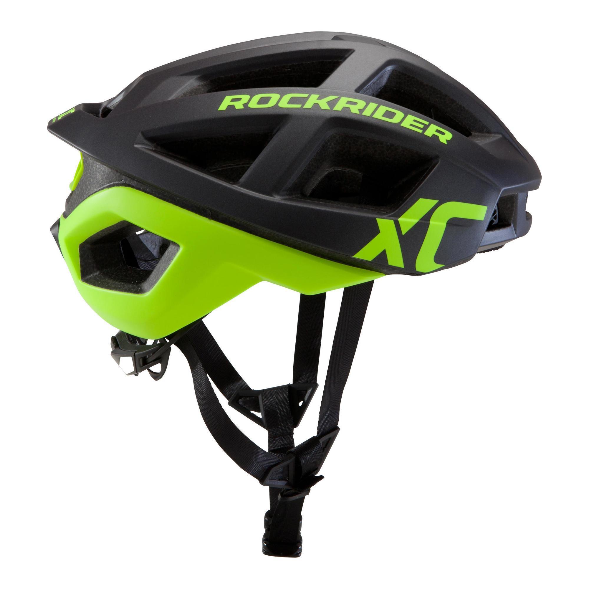 Rockrider MTB-helm XC fluogeel kopen