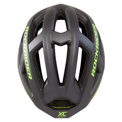 MTB-helm XC fluogeel