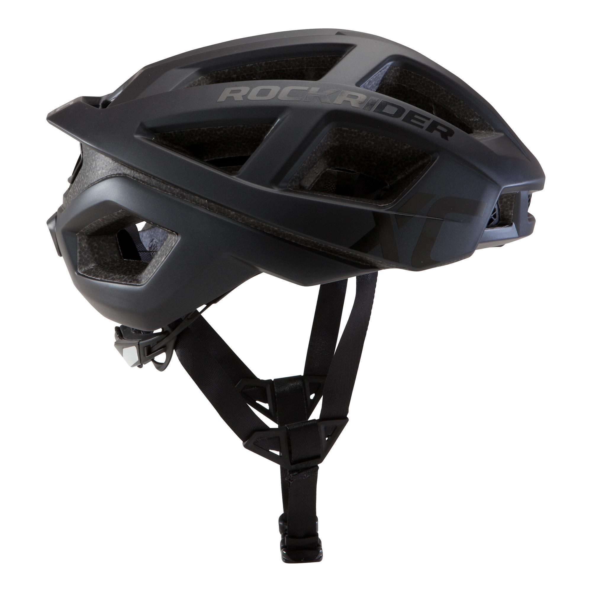 Rockrider MTB-helm XC zwart kopen