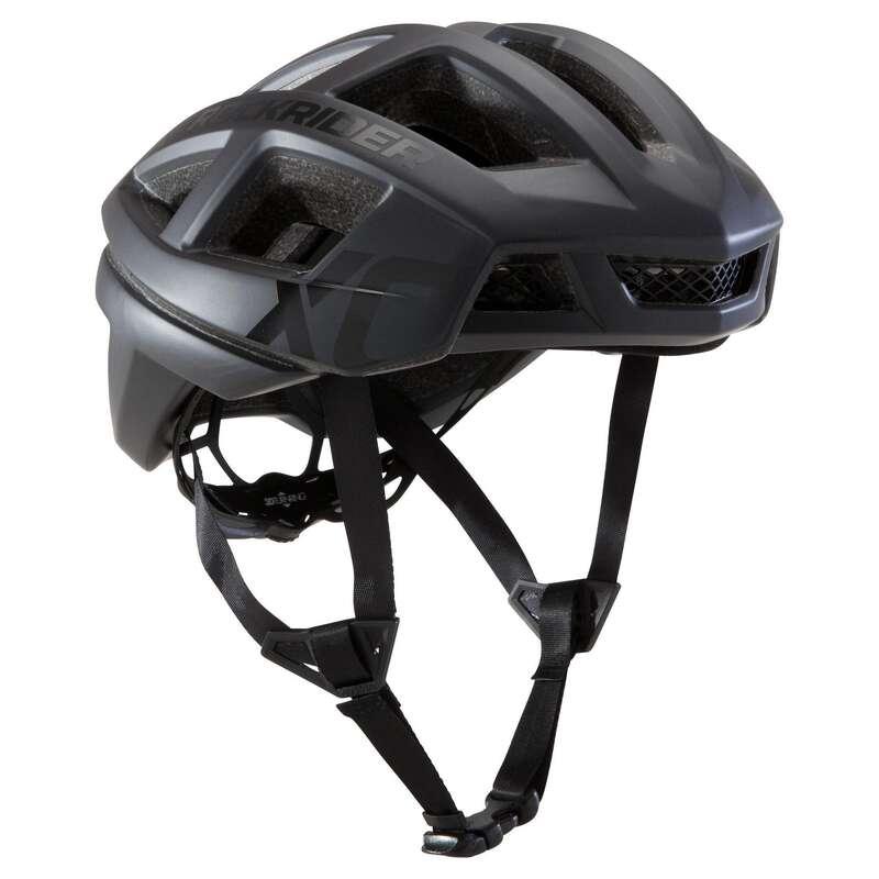 ADULT CROSS COUNTRY MTB HELMETS Cycling - XC MTB Helmet - Black ROCKRIDER - Cycling
