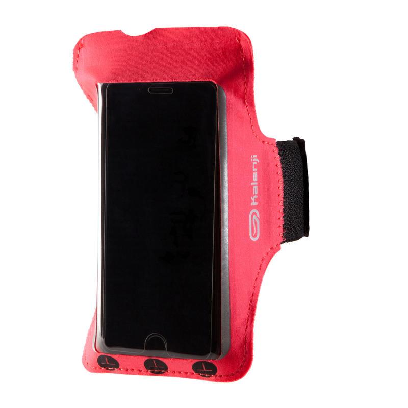 สายรัดแขนใส่สมาร์ทโฟนสำหรับวิ่ง (สีชมพู)