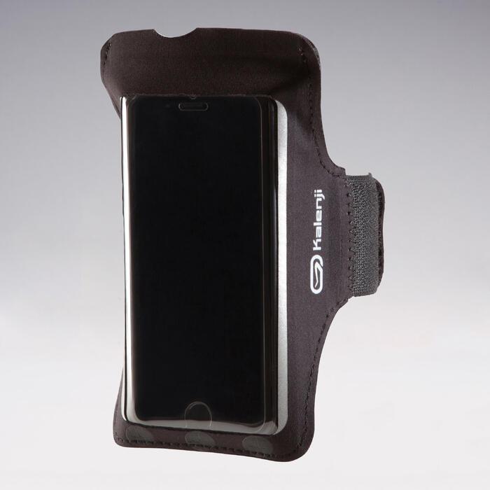 Smartphonearmband groot hardlopen zwart