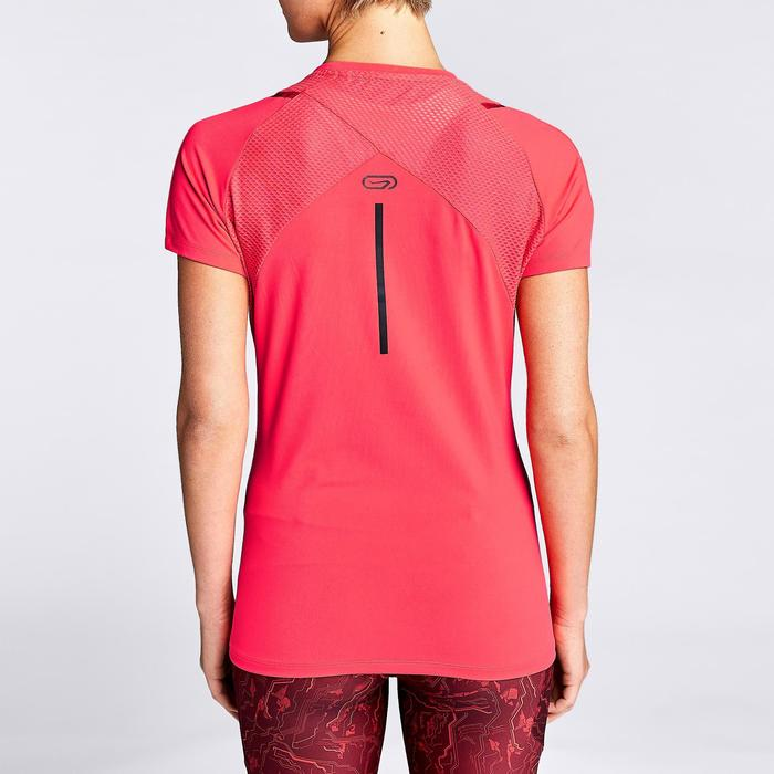Joggingshirt voor dames Run Dry+ koraalrood