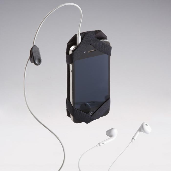 PORTAGE GRAND SMARTPHONE A LA MAIN RUNNING NOIR