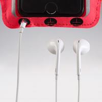 Brazalete Smartphone Grande Running Rosa Coral Fluorescente