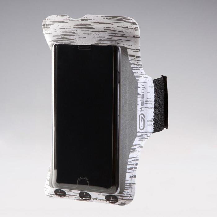 SMARTPHONE RUNNING ARMBAND - REFLECTIVE WHITE