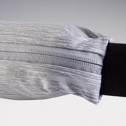 Laufgürtel verstellbar grau