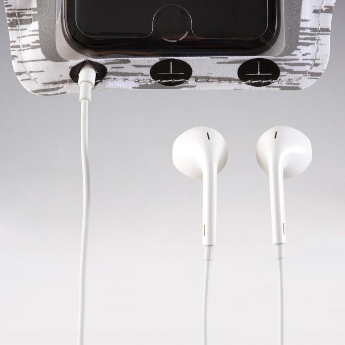BIG SMARTPHONE ARMBAND - REFLECTIVE WHITE