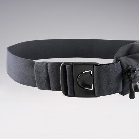 Cinturón Cangurera Running Kalenji Todos los Tamaños Móvil Negro