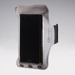 Smartphone armband voor hardlopen grijs