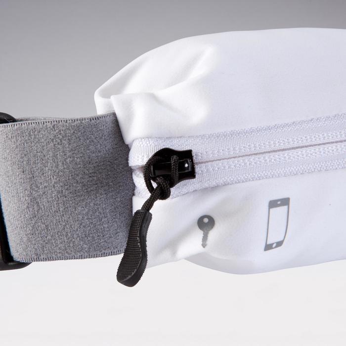Laufgürtel für Smartphone alle Größen weiß