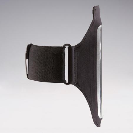 Skriešanas viedtālruņa rokas aproce, melna
