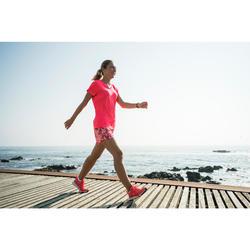 Freizeitschuhe Walking PW 540 Comfort Damen koralle