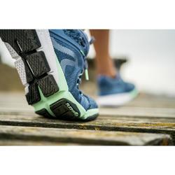 Chaussures marche sportive femme PW 540 bleu
