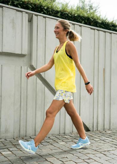 la bonne posture antistress marche sportive