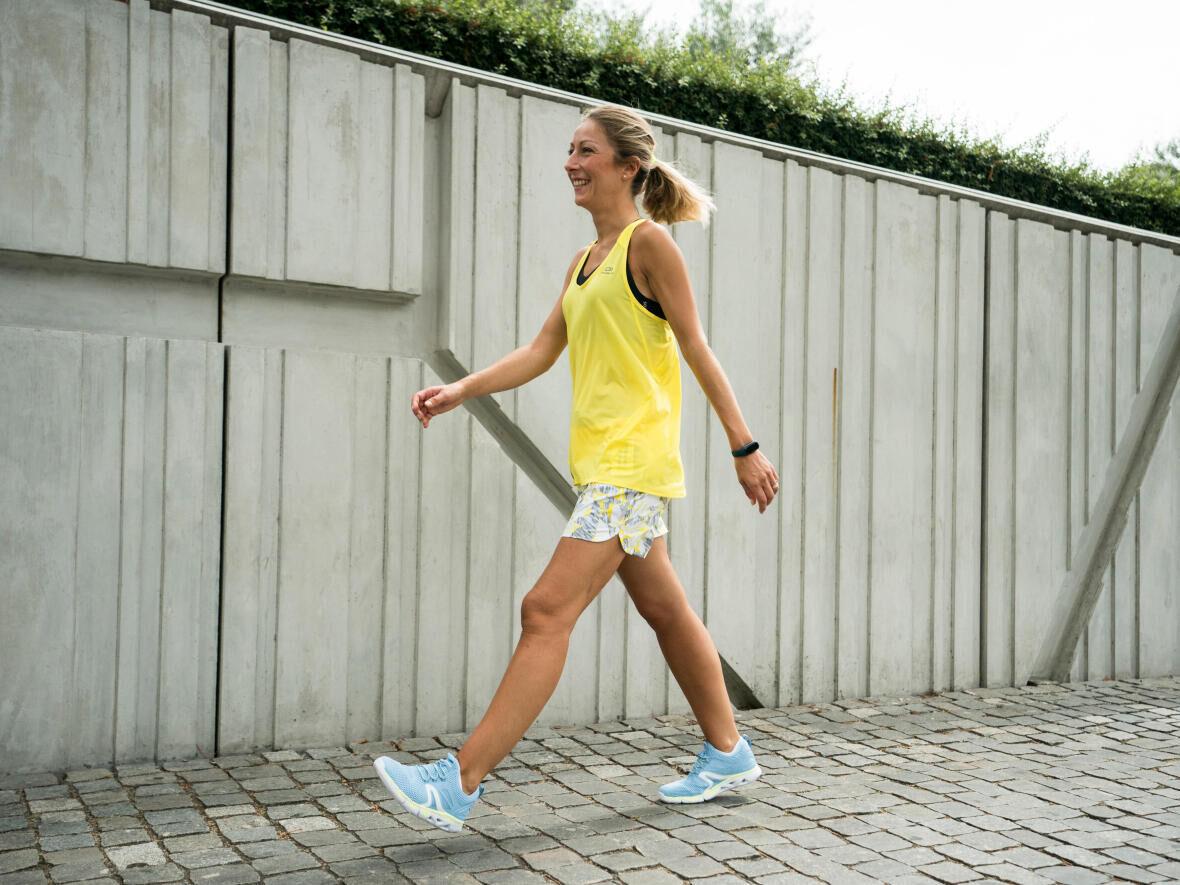 marche sportive posture antistress