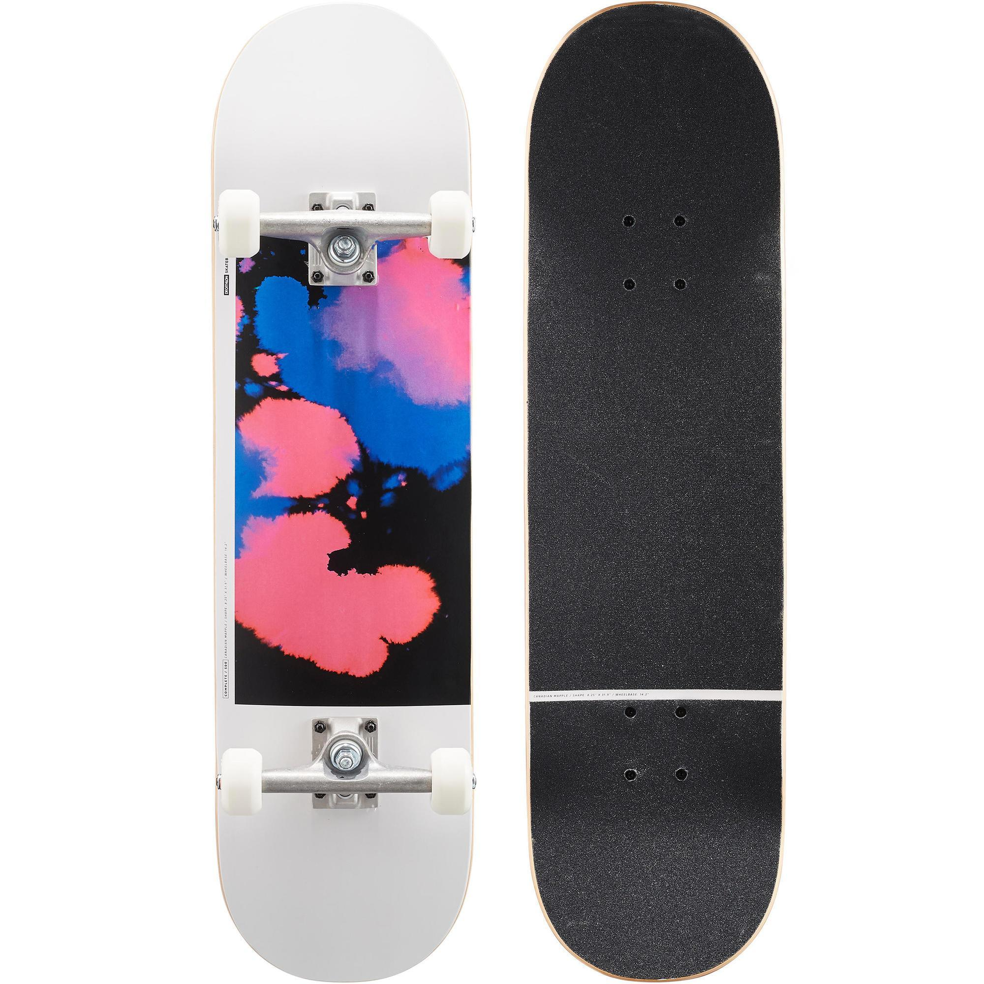 bc2208f456b Skateboard COMPLETE 500 Fury paranoid Oxelo