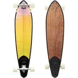 Tabla Longboard OXELO Pintail 520 Adulto Amarillo/Marrón