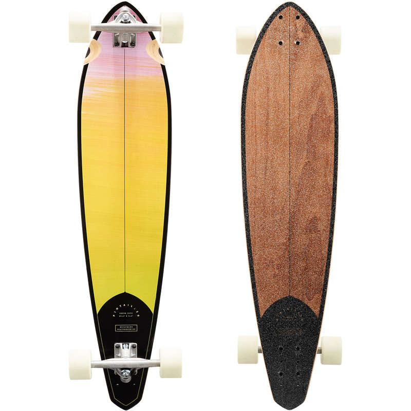 LONGBOARD AND CRUISER Skateboarding and Longboarding - Pintail 520 Longboard Gradient OXELO - Skateboarding and Longboarding
