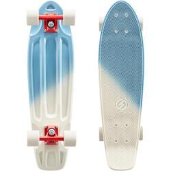 Big Yamba Cruiser Skateboard - Blue/Beige