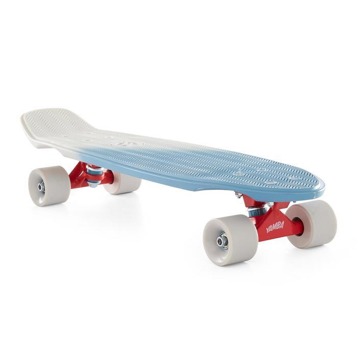 Cruiser-Skateboard Big Yamba blau/beige