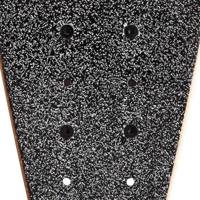 Tabla Longboard OXELO Pintail 520 Adulto Amarillo/Marrón