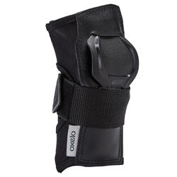 Fit500 Adult Skating Wrist Guards - Black/Grey