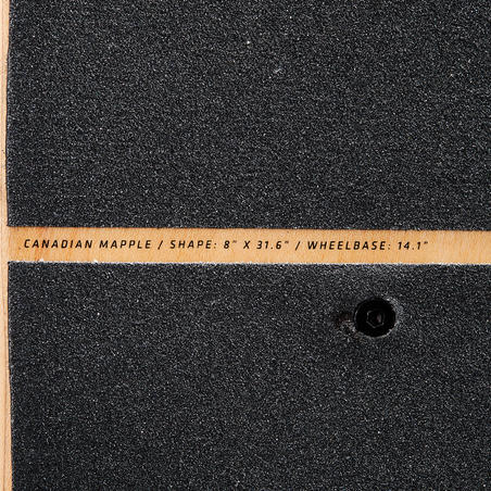 PATINETA SKATEBOARD COMPLETO 100% arce canadiense 100 GRADIANT PARROT