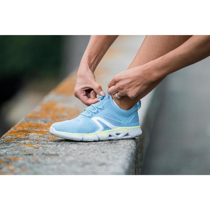 Zapatillas Caminar Newfeel PW 500 Fresh Mujer Azul Lavanda