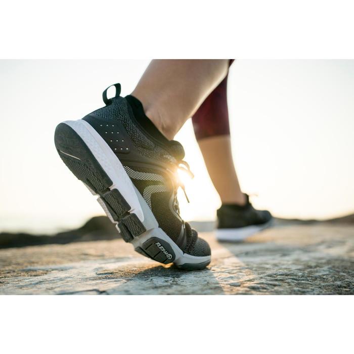 Freizeitschuhe Walking PW 540 Komfort Damen schwarz
