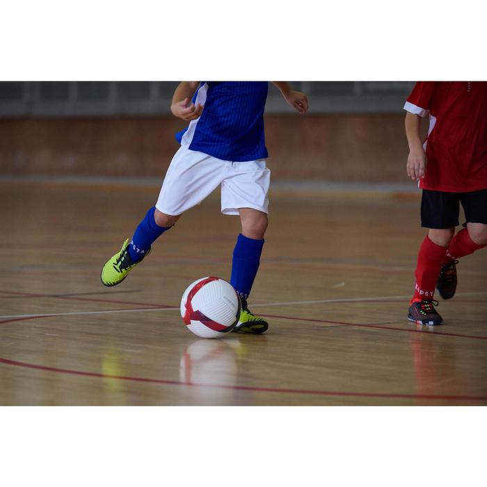 Hallenschuhe Futsal Fussball Eskudo 500 Kinder gelb