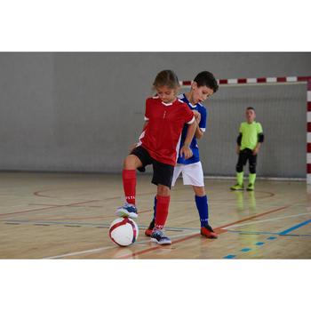 Hallenschuhe Eskudo 500 Futsal Kinder blau/grau