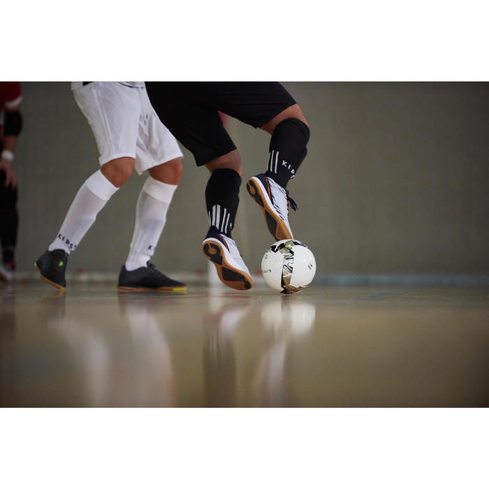 Eskudo 500 Futsal Trainers - Fog Grey