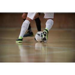 Eskudo 500 Futsal Trainers - Grey/Yellow