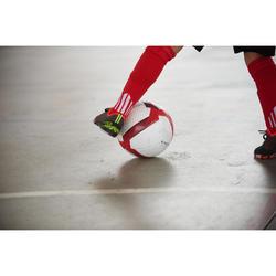 Zapatillas de Fútbol Sala Kipsta CLR 900 niños negro naranja
