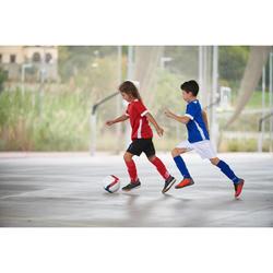 Sapatilhas de Futsal Criança ESKUDO 500 Barrio Preto/Cinza