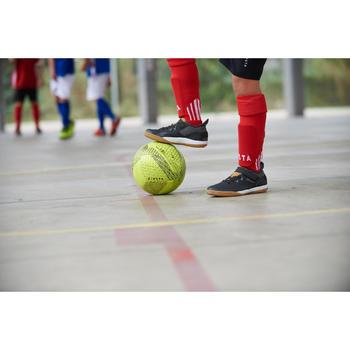 Ballon de Futsal 100 hybride taille 58 cm jaune