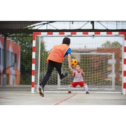 Zaalvoetbalschoenen kind Eskudo 500 Barrio grijs