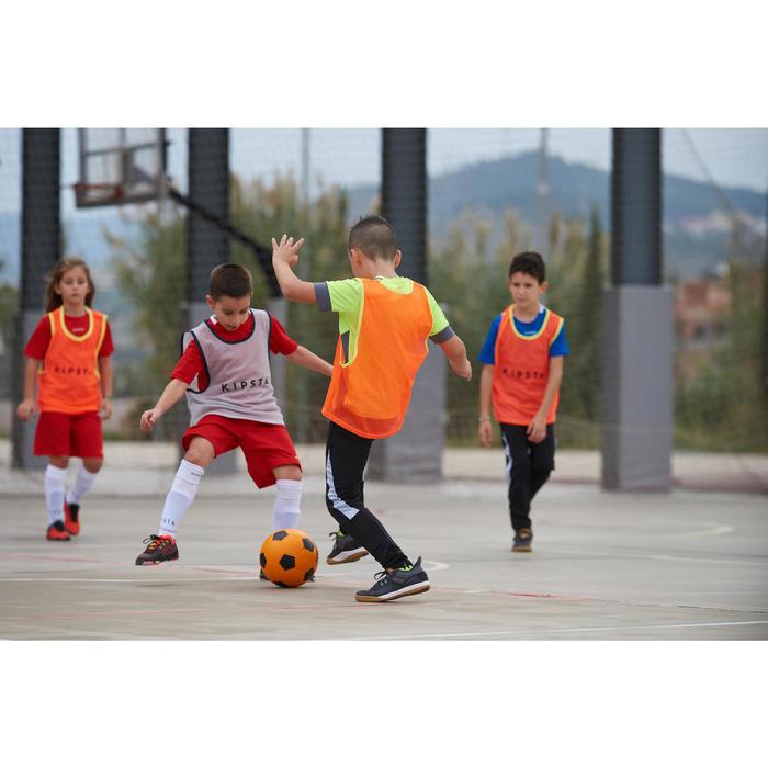 Ballon de Futsal mousse Wizzy taille 4 orange noir