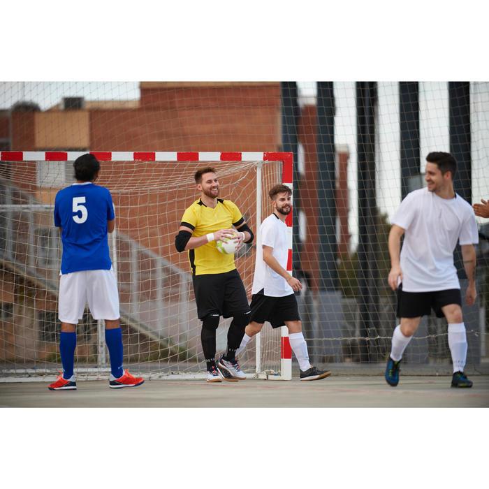 Futsalball 500 Hybrid Größe 4 410-430g weiß/gelb