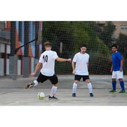 Balón de Fútbol Sala Kipsta 500 Híbrido 63 cm blanco y amarillo