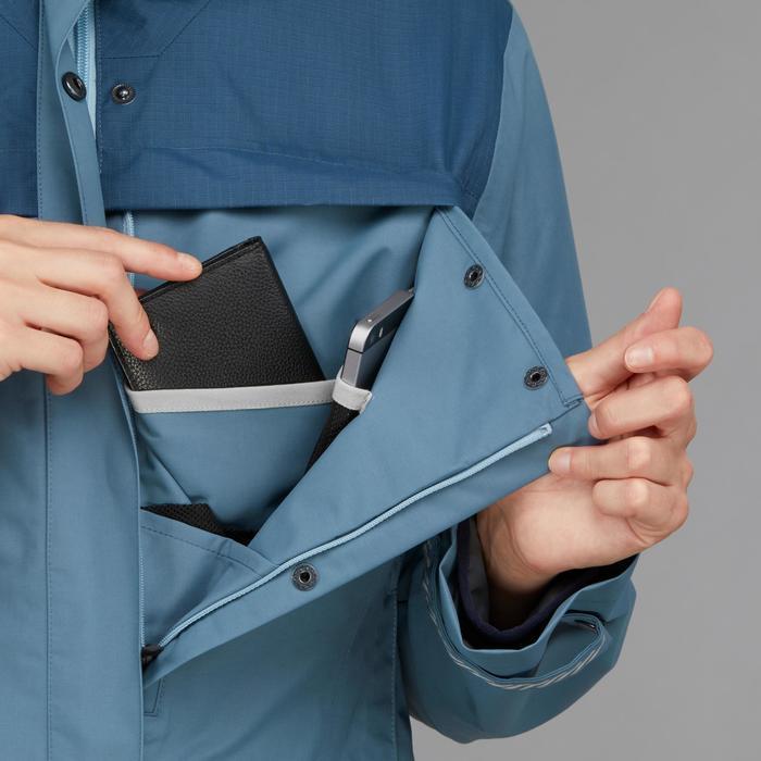 3-in-1 damesjas voor backpacken Travel 100 blauw