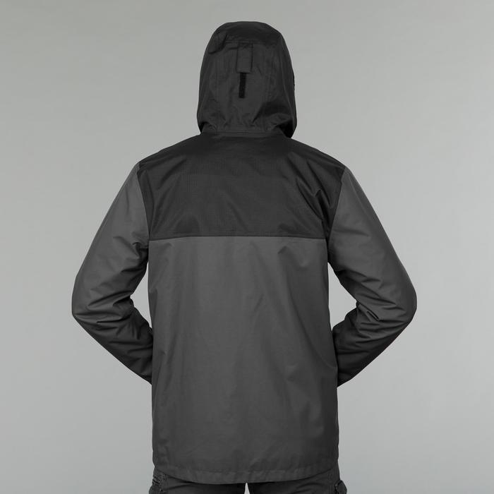 3-in-1 herenjas voor backpacking Travel 100 grijs