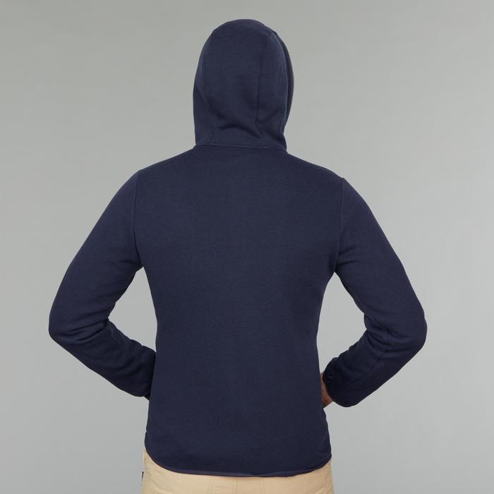 男款三合一旅行健行外套TRAVEL100-藍色