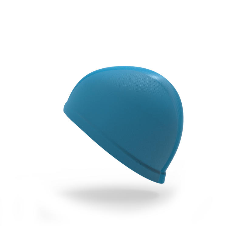 Blue baby's swim cap