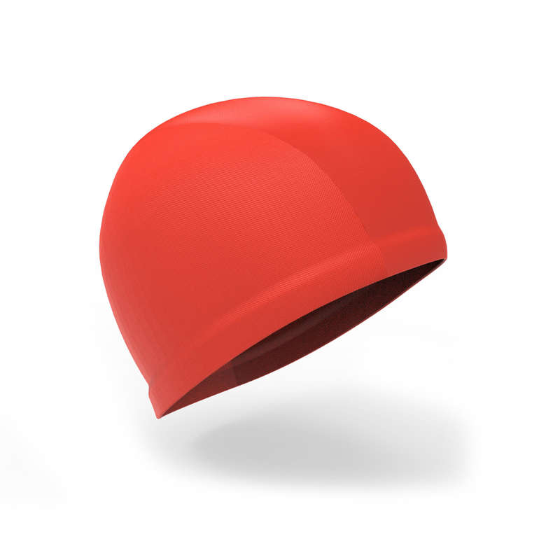 BABY SWIMSUITS & ACCESS. Swimming - Red baby's swim cap NABAIJI - Swimwear