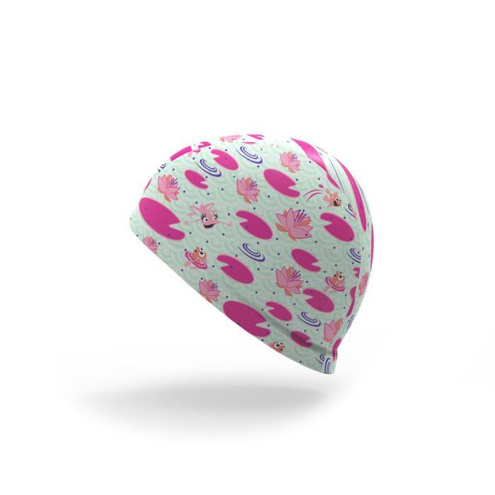 Bonnet de bain bébé imprimé Flamingo en maille