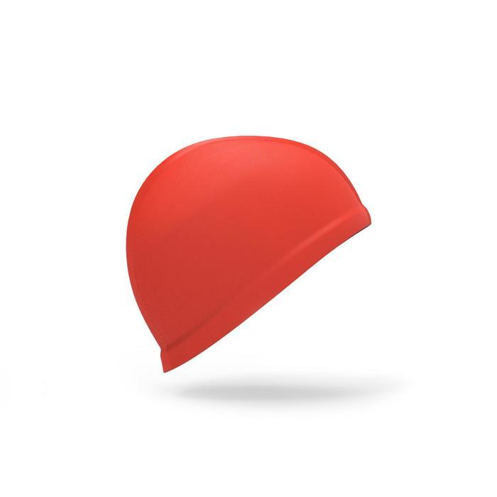 Gorro de natación bebé rojo